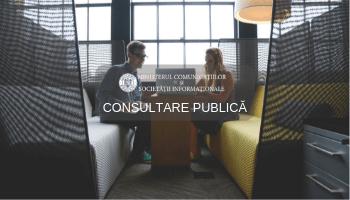 CONSULTARE PUBLICĂ: Proiectul de Politică publică și Planul de acțiuni în domeniul comerțului electronic